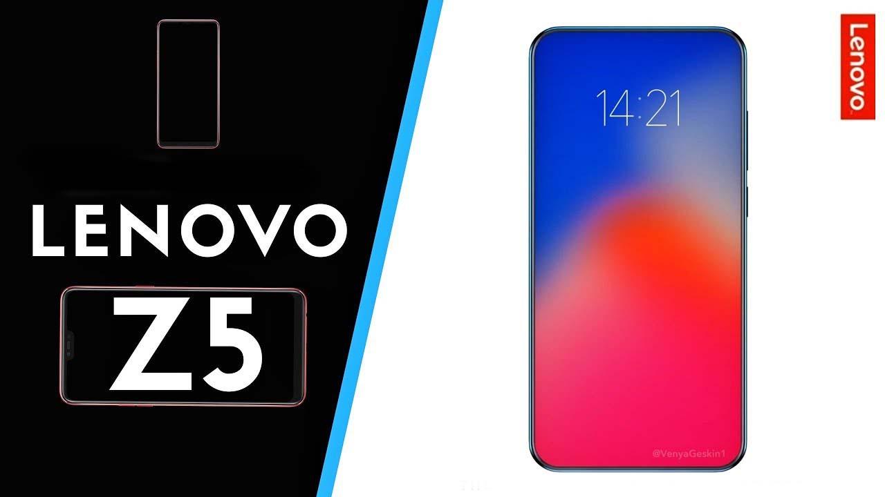Lenovo Z5 sarà il primo smartphone completamente fullscreen