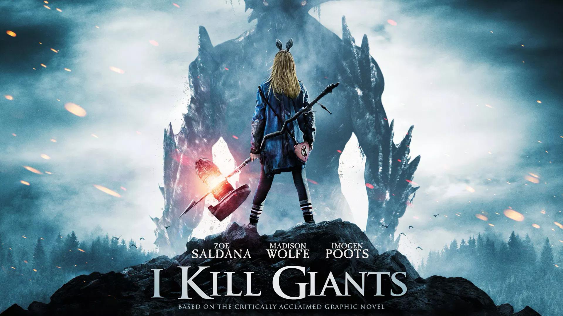 I Kill Giants film Netflix tratto dal fumetto disponibile per lo streaming