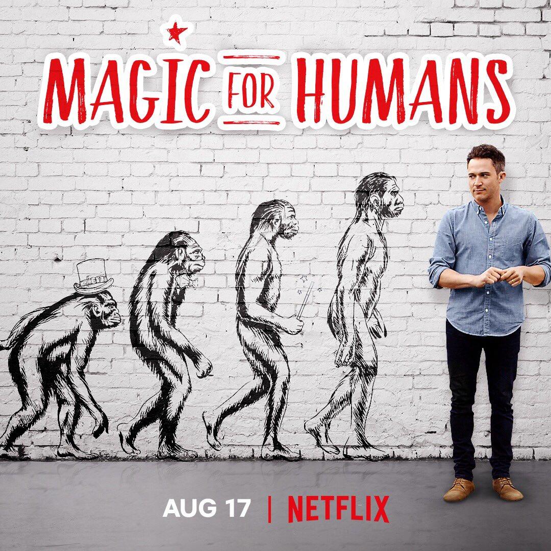 Magic for humans con Justin Willman disponibile su Netflix