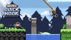 Super QuickHook: conquista Eagle Mountain con l'aiuto del tuo fedele rampino.
