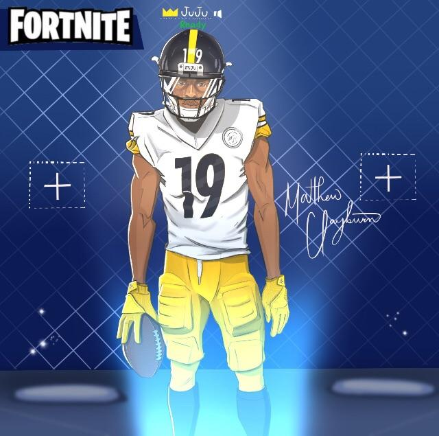 Fortnite e skin in partnership con la NFL