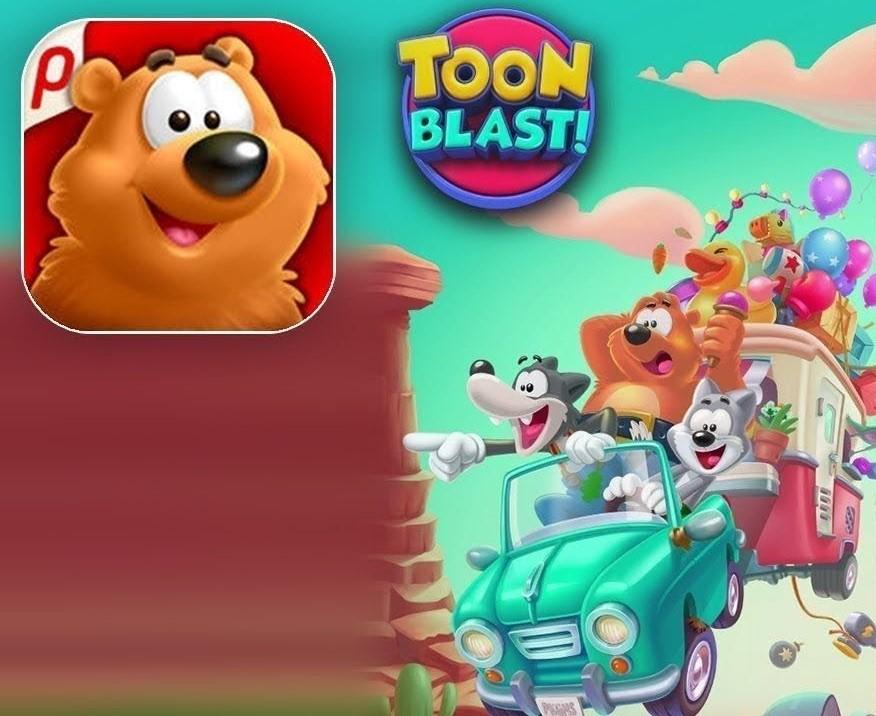 Toon Blast 4+ , Entra nel mondo dei cartoni pazzi