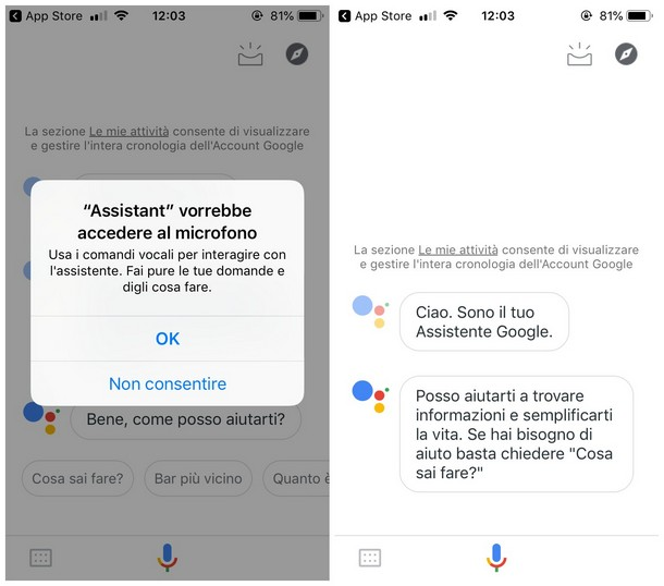 Assistente vocale Google per Android Apple - Guida su come scaricare l'Assistente vocale
