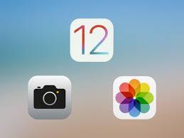 Rullino fotografico iOS 12 - occando l'icona della fotocamera sul lato in alto a sinistra della tastiera ora si apre il mirino e, una volta scattata una foto, o alcuni scatti rapidi, vengono tutti aggiunti alla libreria.