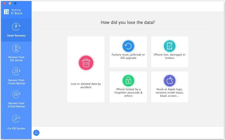 Cosa fare se mancano info dopo il backup di iCloud