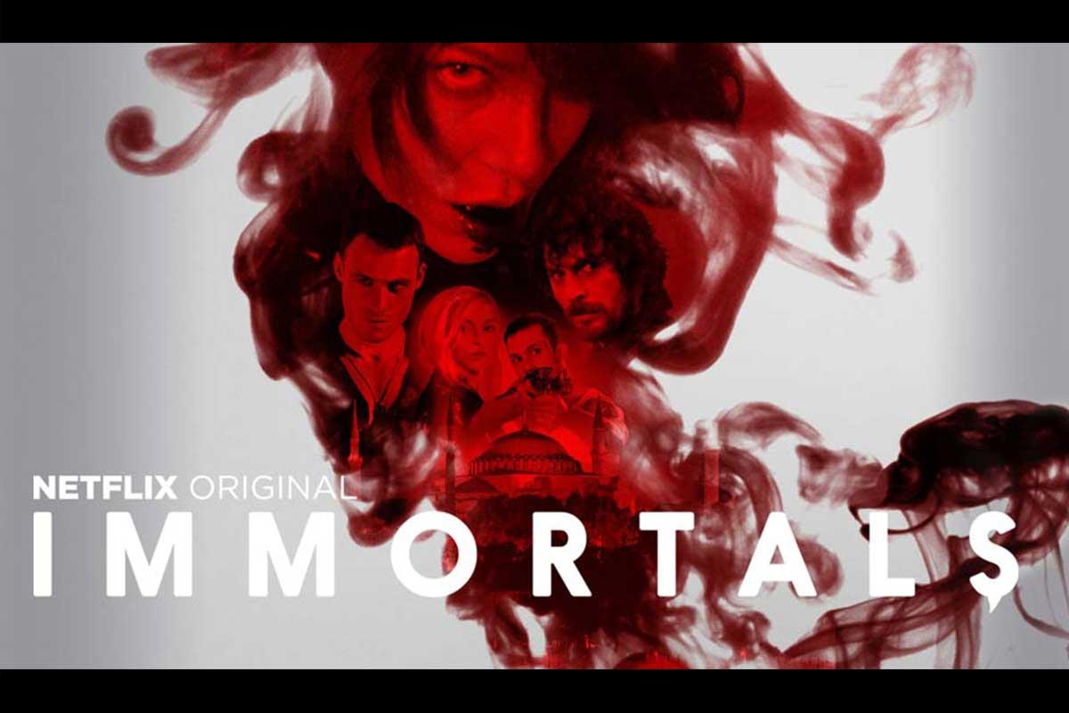 La nuova serie di vampiri Immortals è ora in streaming su Netflix