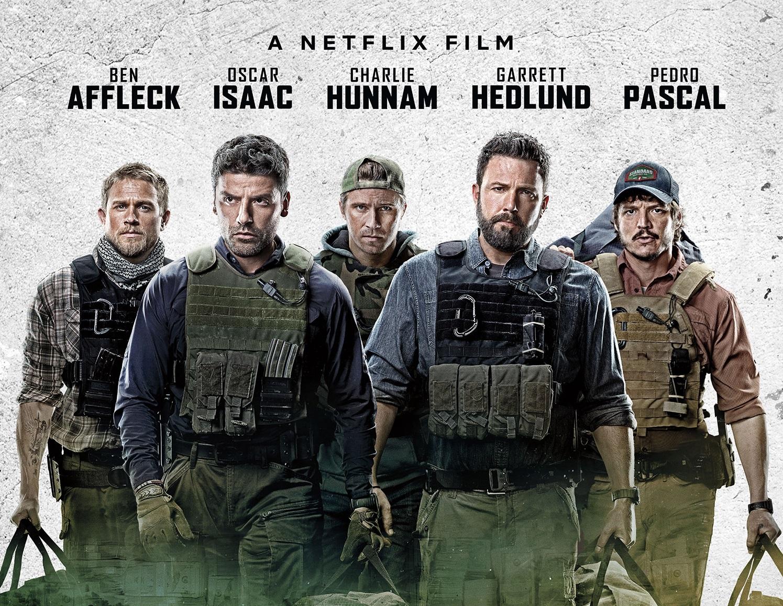 Triple Frontier disponibile su Netflix