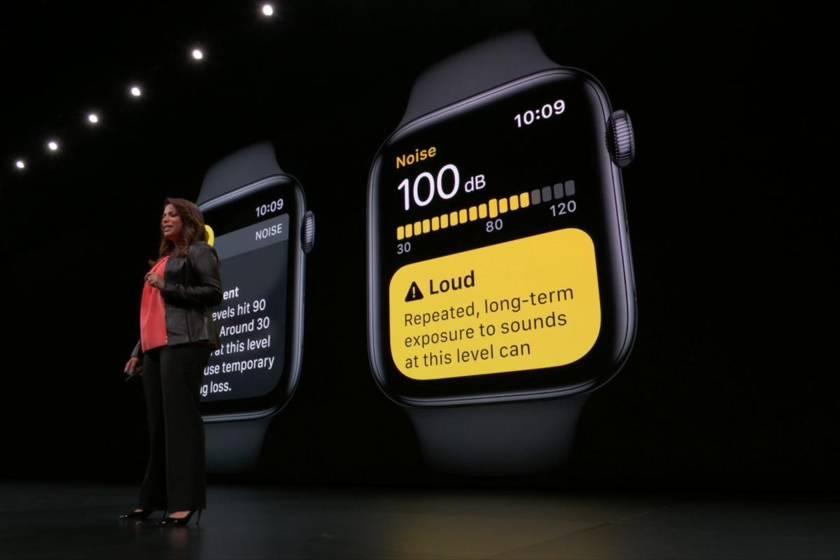 Apple introduce WatchOS 6 al WWDC 2019.