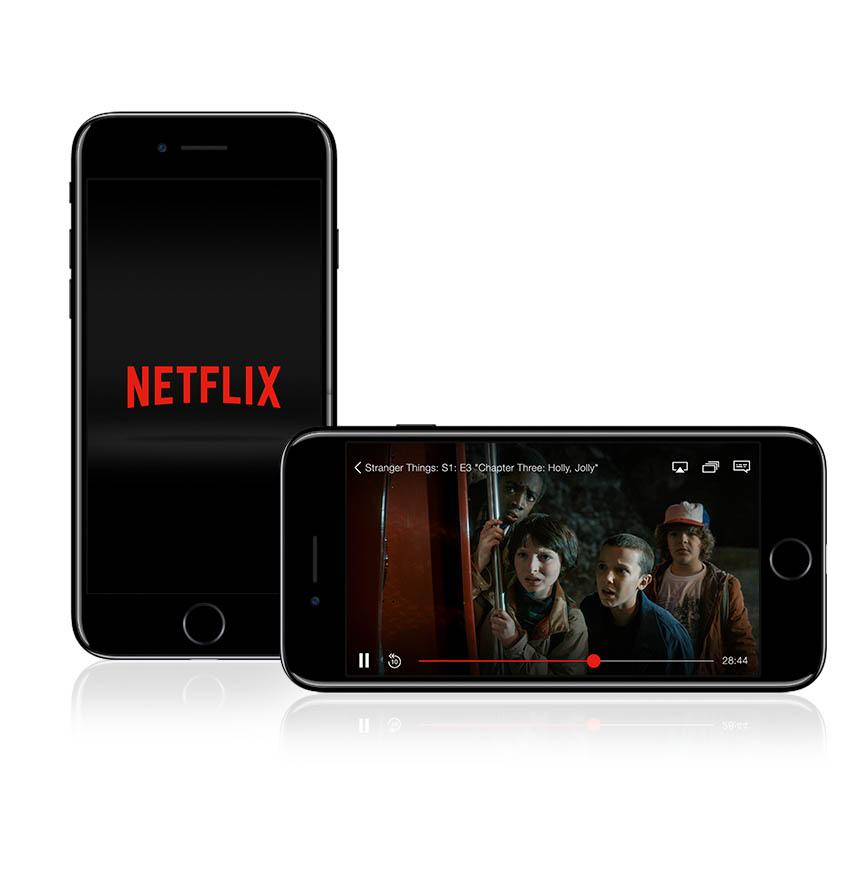 Netflix è attualmente la più popolare piattaforma di streaming