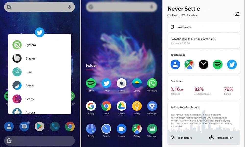 Ecco come potrebbe apparire OxygenOS 10 basato su Android Q in futuro