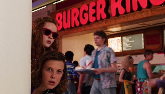 Stranger Things 3 Burger King