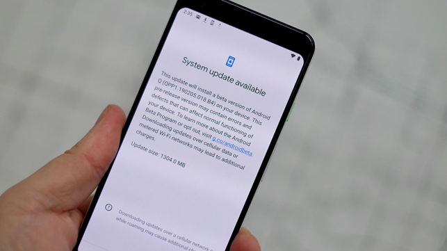 Google rilascia Android Q beta 5.
