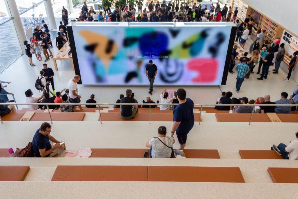 La nuovissima Apple Avventura: un Apple Store tropicale