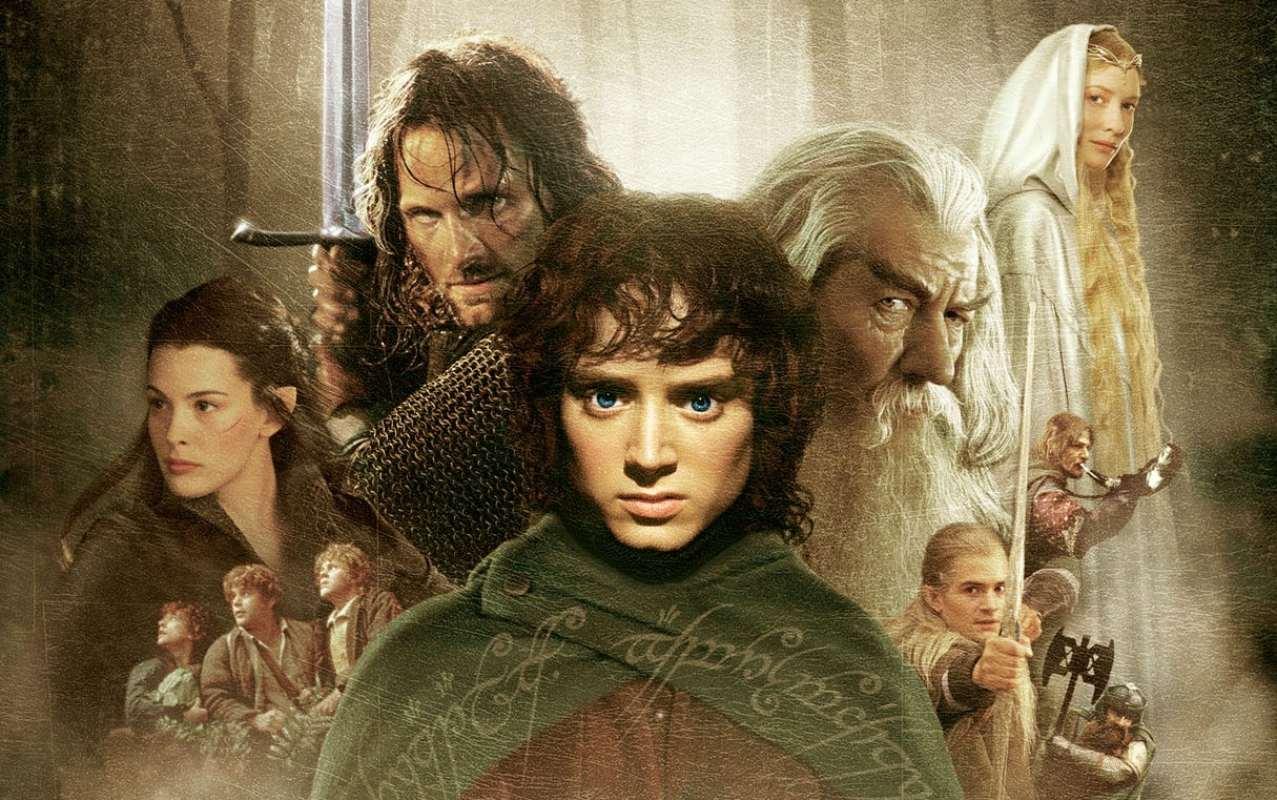 La trilogia del Il signore degli anelli tratto dall'omonima prima parte del romanzo di J. R. R. Tolkien