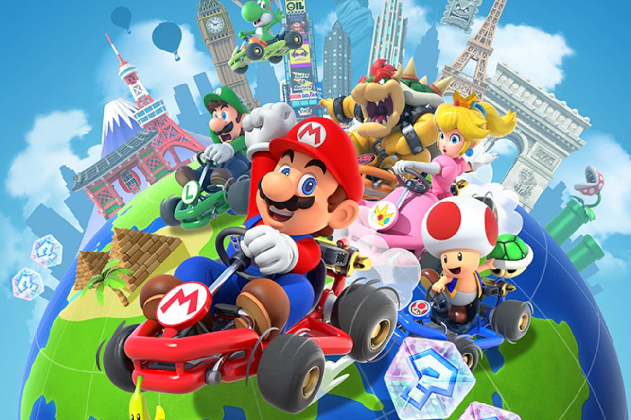 Mario Kart l'App mobile per iPhone e Android arriverà il 25 settembre