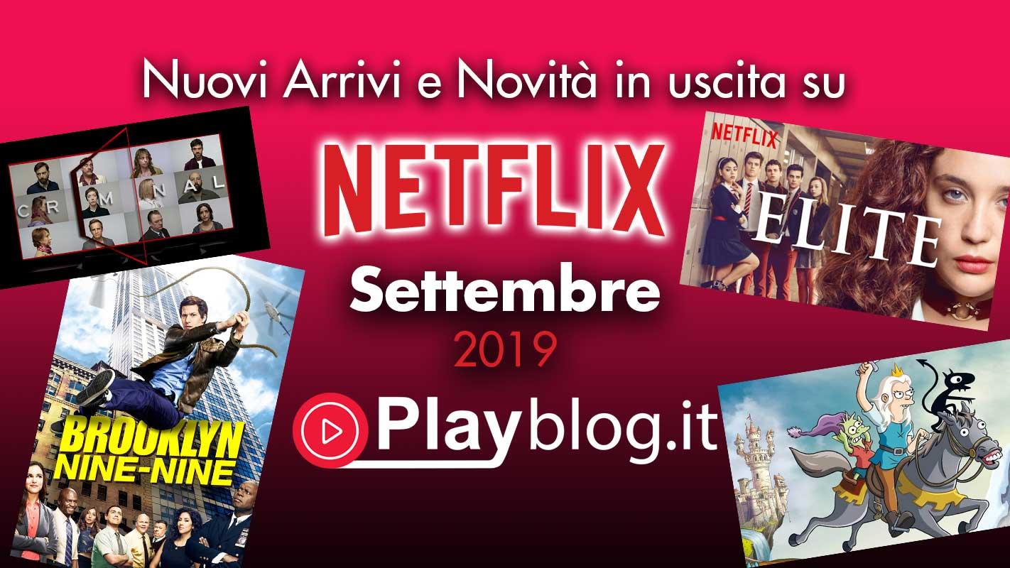 SERIE ORIGINALI e Tutte le novità di settembre in streaming su Netlix Originale globale al di fuori della Corea