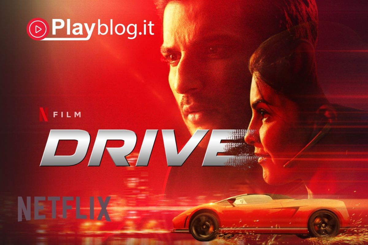 In Drive un famigerato ladro unisce le forze con una pilota di corse per una grossa rapina che prevede di ingannare anche le autorità corrotte.