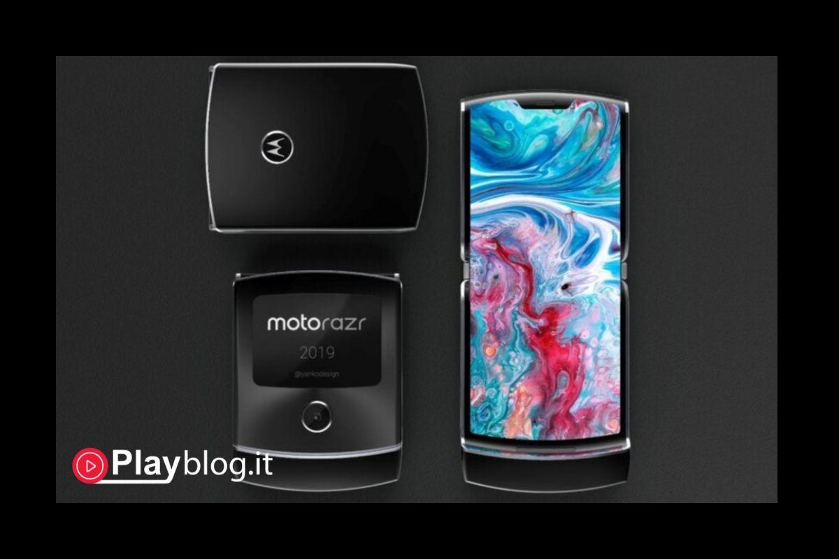 Motorola ha annunciato ufficialmente il Razr pieghevole