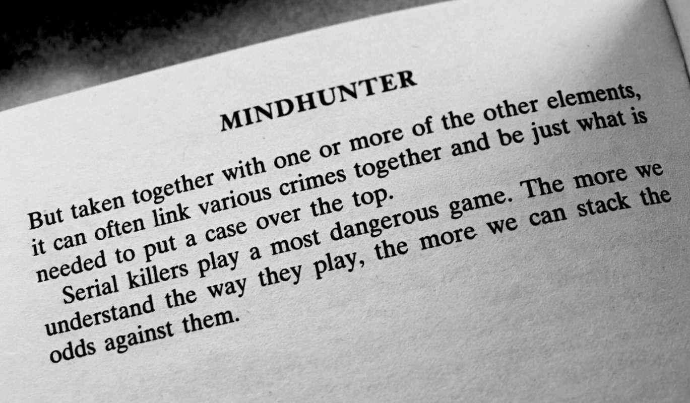 mindhunter il libro