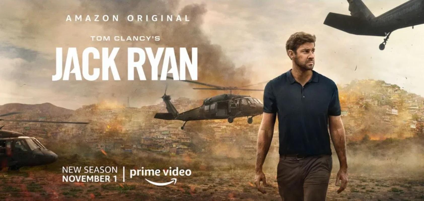 tom clancy jack ryan amazon prime video