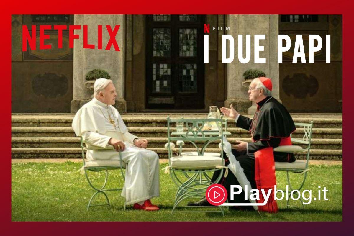 I due Papi Netflix In un momento di svolta per la Chiesa cattolica, Papa Benedetto XVI stringe una sorprendente amicizia con il futuro Papa Francesco