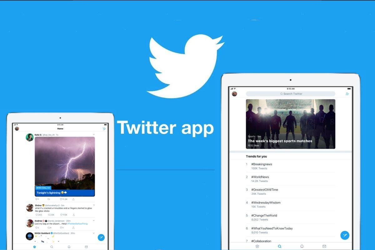 App per iPad di Twitter