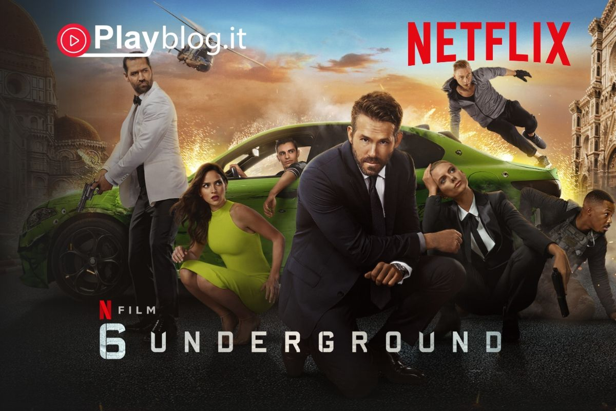Pronti per 6 Underground con Ryan Reynolds su Netflix