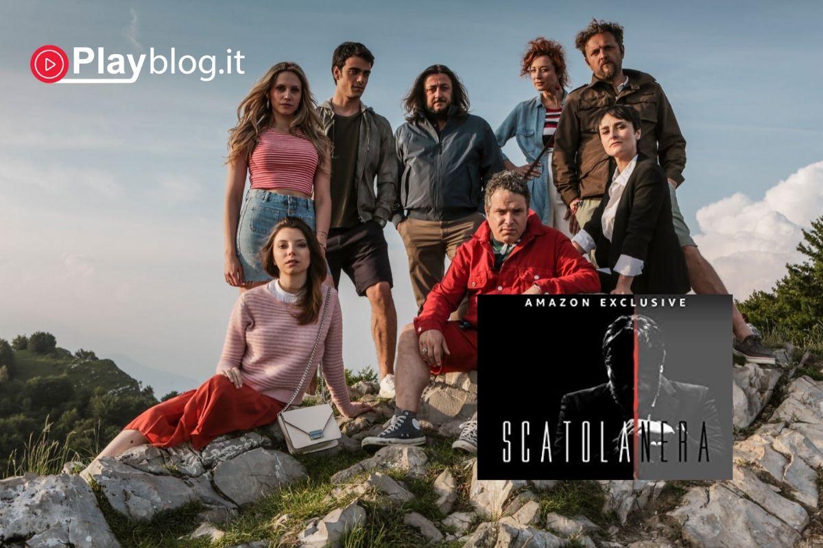 Scatola nera la prima crime comedy italiana da Amazon Prime