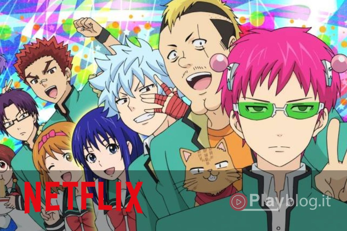 The Disastrous Life of Saiki K. Netflix Lo studente di seconda liceo Kusuo Saiki ha giurato da bambino che avrebbe tenuto nascoste le sue capacità