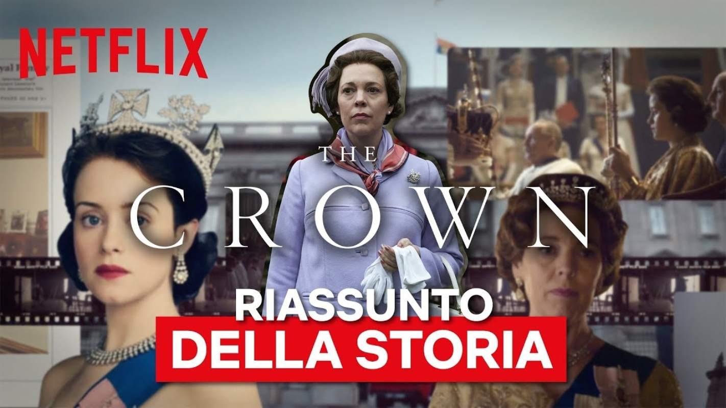the crown riepilogo della storia