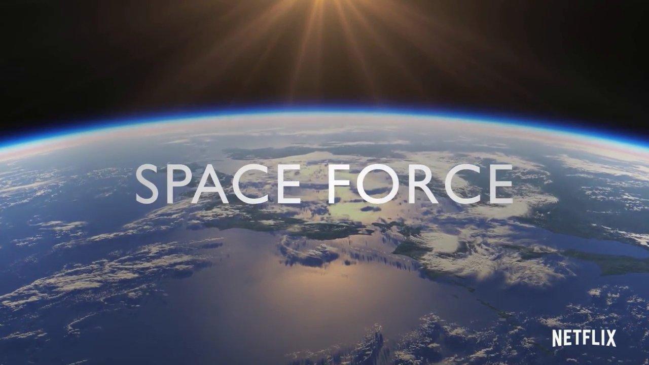 Annunciata la prima stagione di Space Force Netflix