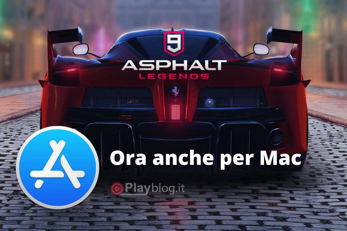 Asphalt 9 Legends è stato lanciato sul Mac App Store con Catalyst