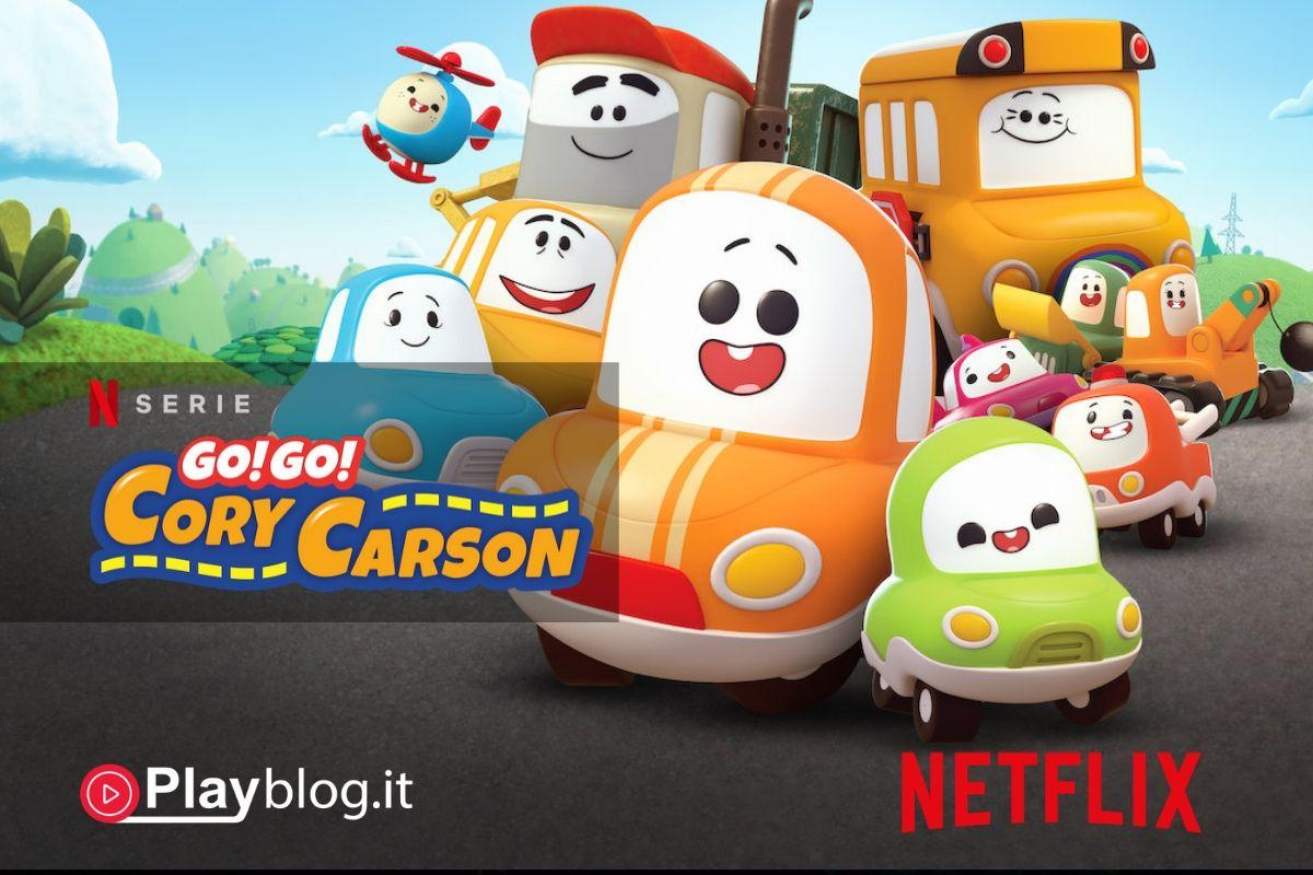 Go! Go! Cory Carson Prima stagione su Netflix Kids