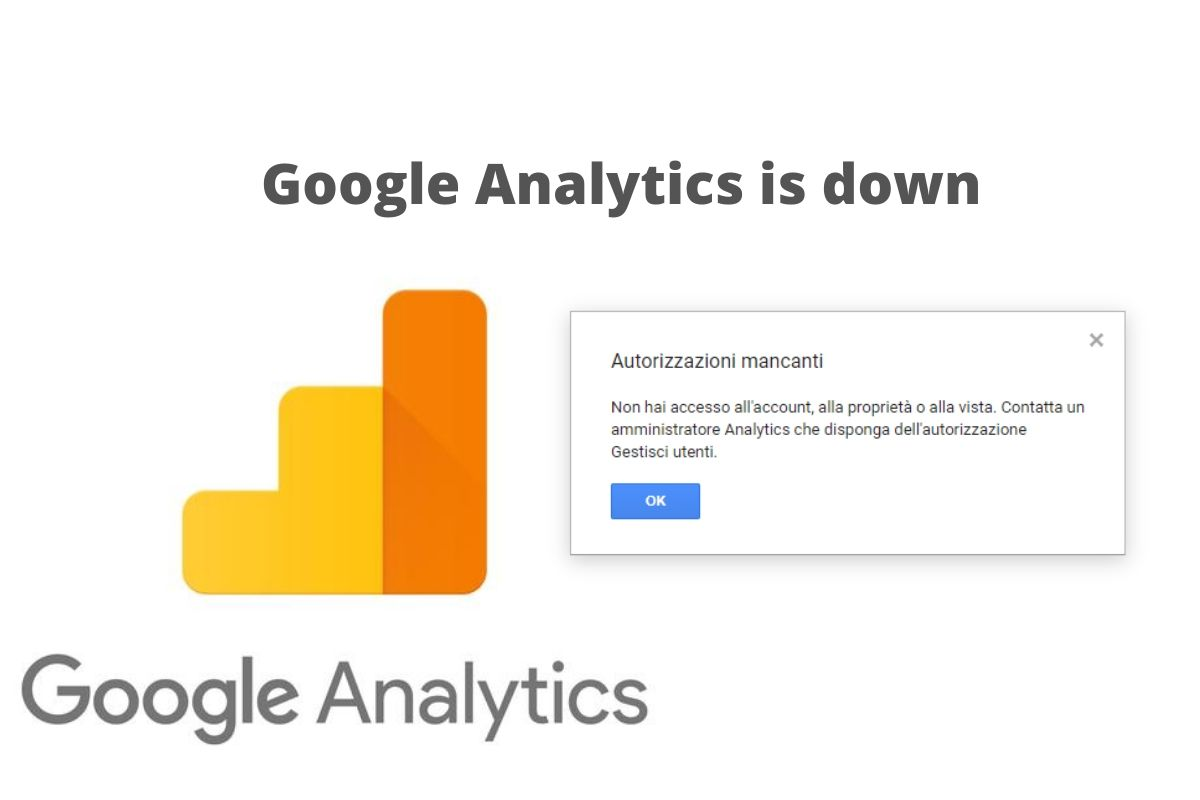 Google Analytics is down segnalati numerosi problemi