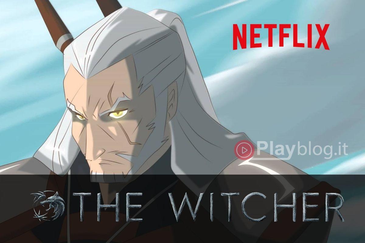 Una serie anime di The Witcher in arrivo su Netflix