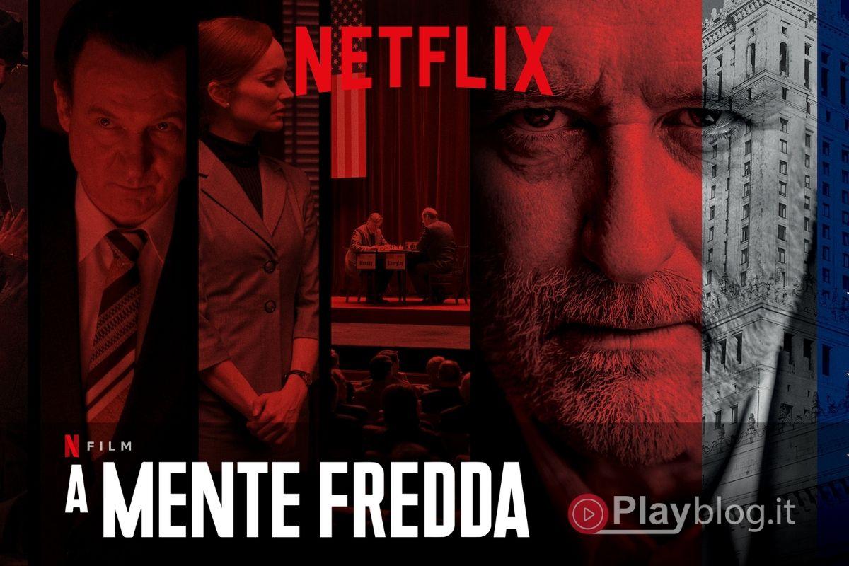 A Mente Fredda il film Thriller di spionaggio internazionale arriva su Netflix