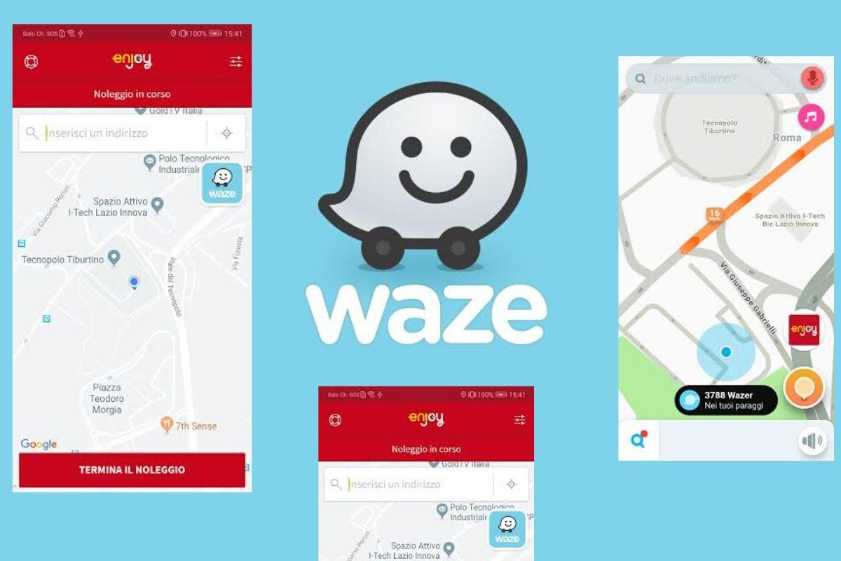Enjoy e Waze una nuova alleanza per migliorare il modo di muoversi in città