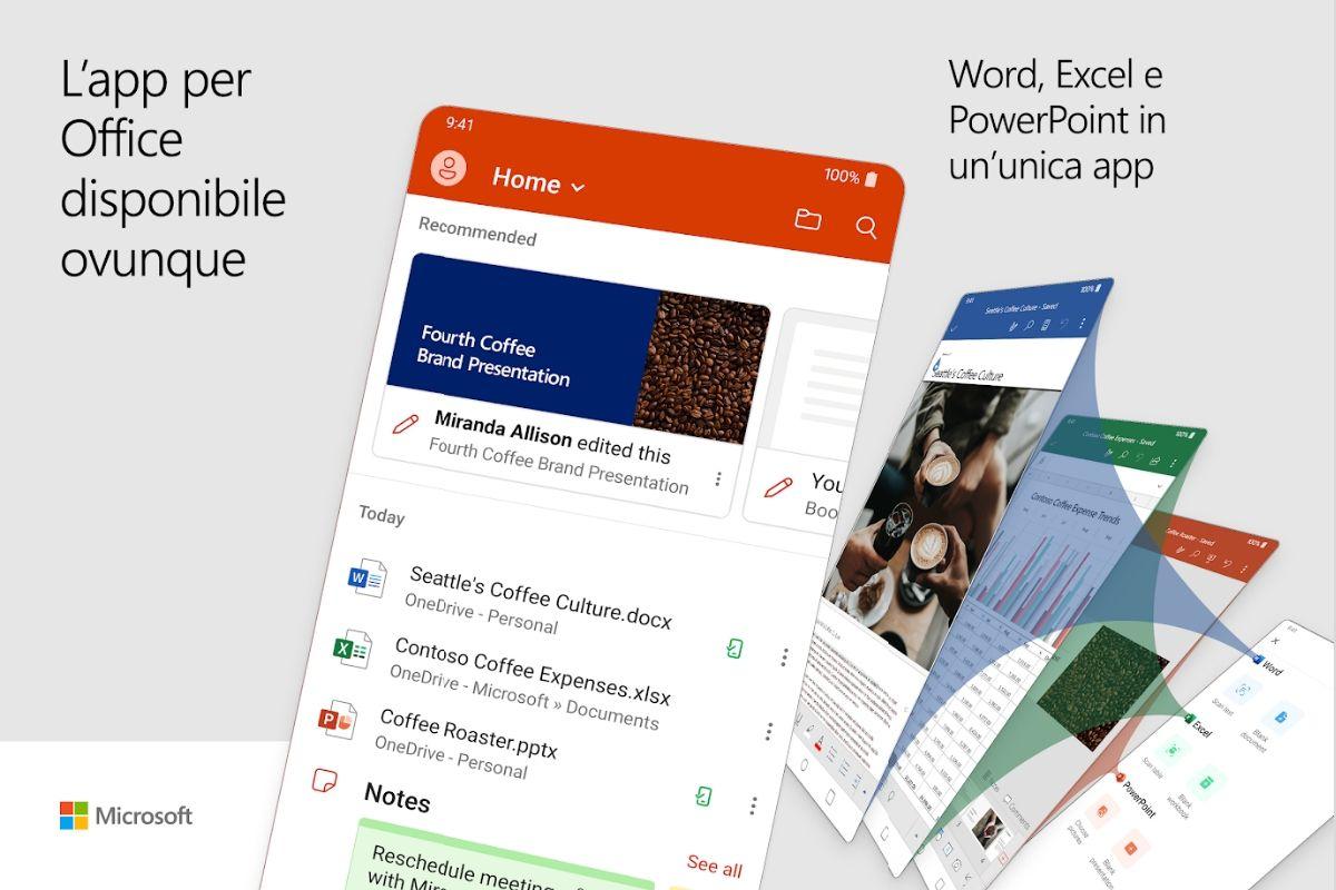 L'app di Microsoft Office All-in-One ora disponibile per Android