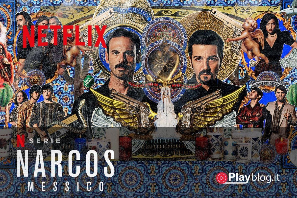 Narcos Mexico su Netflix Questa nuova e cruda saga targata Narcos racconta la genesi della narcoguerra messicana negli anni '80 con la storia