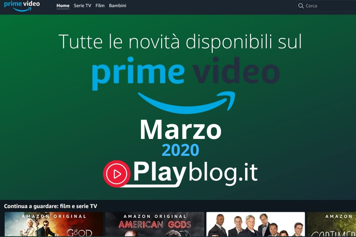 amazon prime video marzo 2020