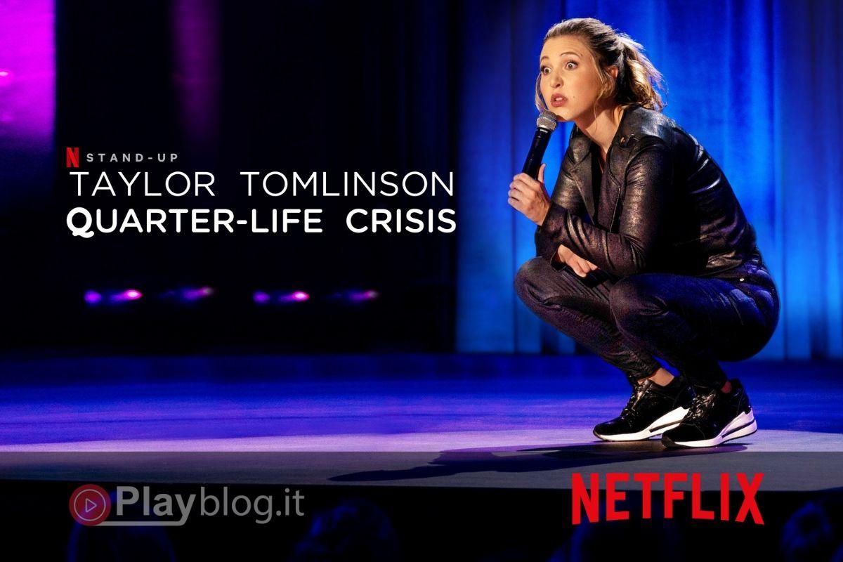 Inizia a guardare Taylor Tomlinson Quarter-Life Crisis su Netflix