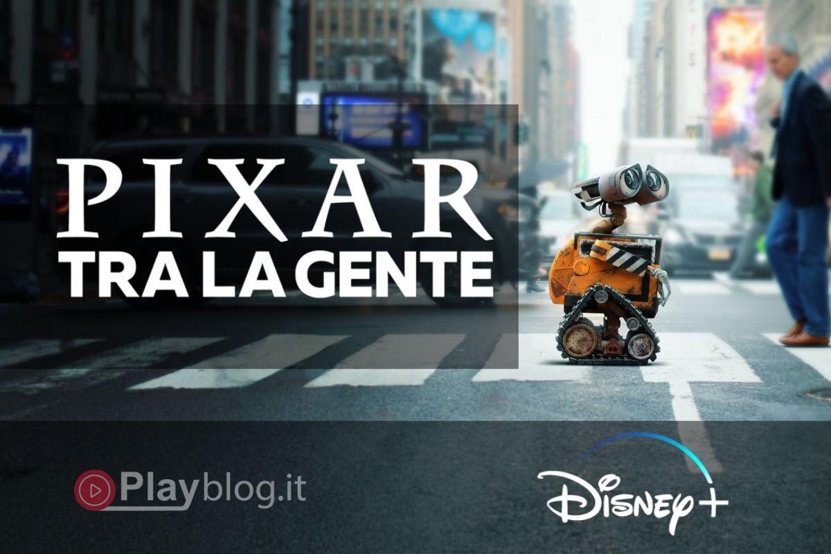 PIXAR tra la gente Questa serie live action porta personaggi e momenti iconici dei film Pixar nel mondo reale. Girato a New York e dintorni, la serie sorprende e delizia le persone reali in luoghi reali quando meno se lo aspettano.