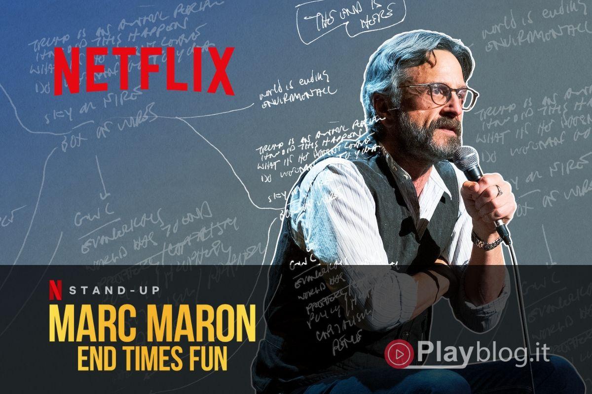 Un nuovo speciale comico originale Netflix con Marc Maron