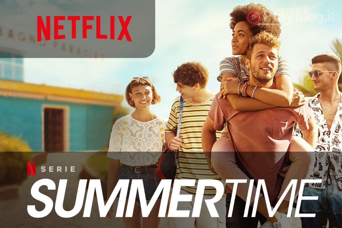 Summertime disponibile su Netflix la prima stagione