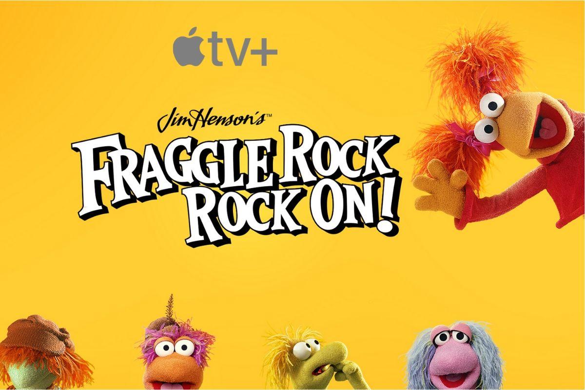 copertina fraggle rock rock on apple tv plus