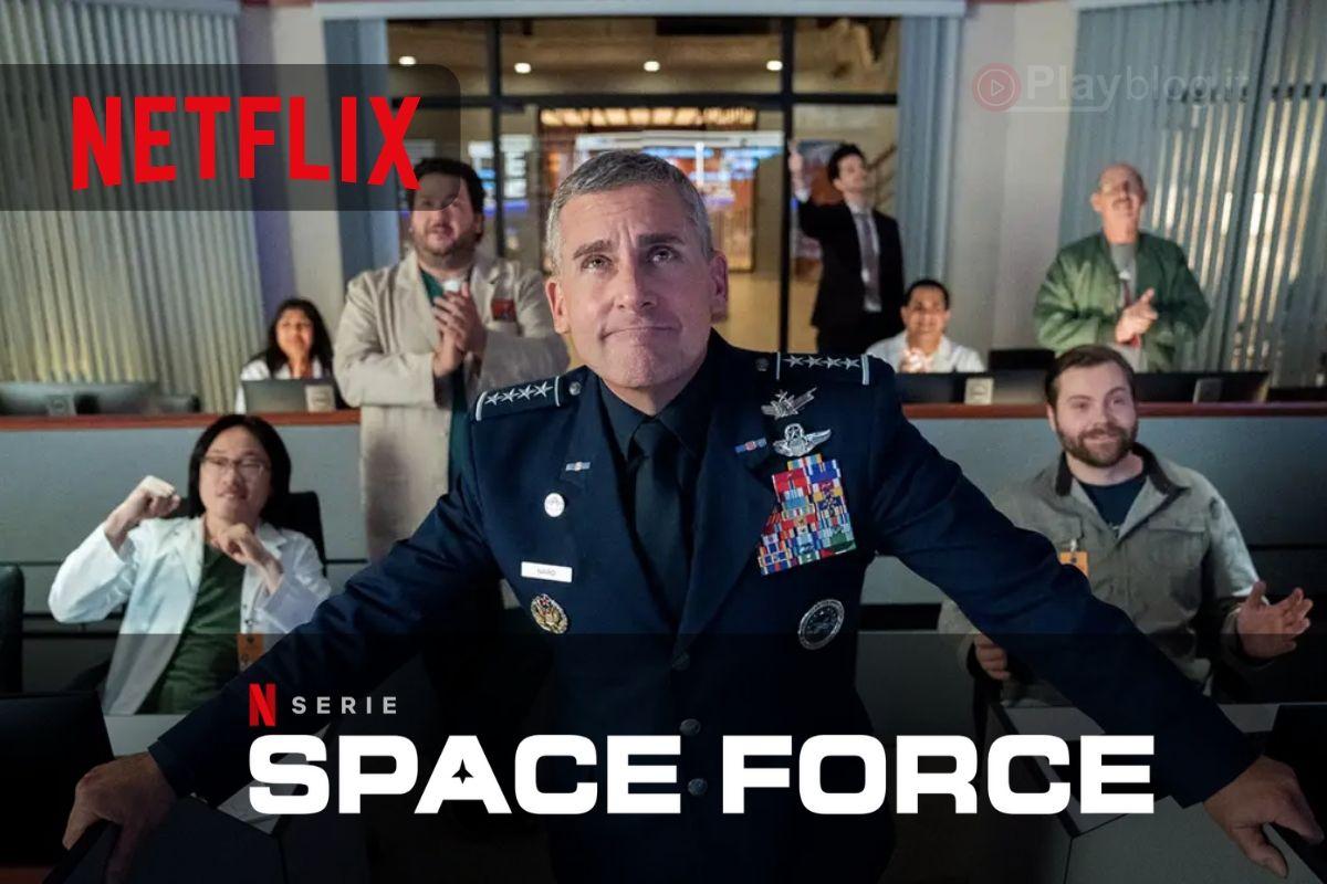 Guarda il primo trailer di Space Force di Netflix con Steve Carell di The Office