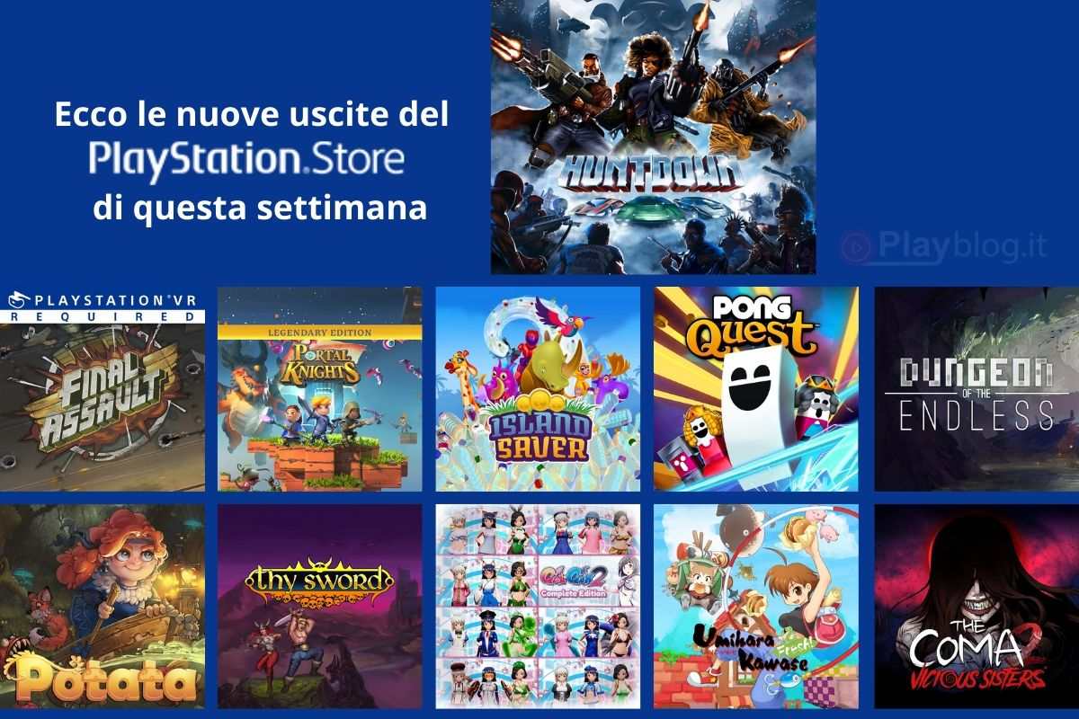 Le nuove uscite del PlayStation Store di questa settimana