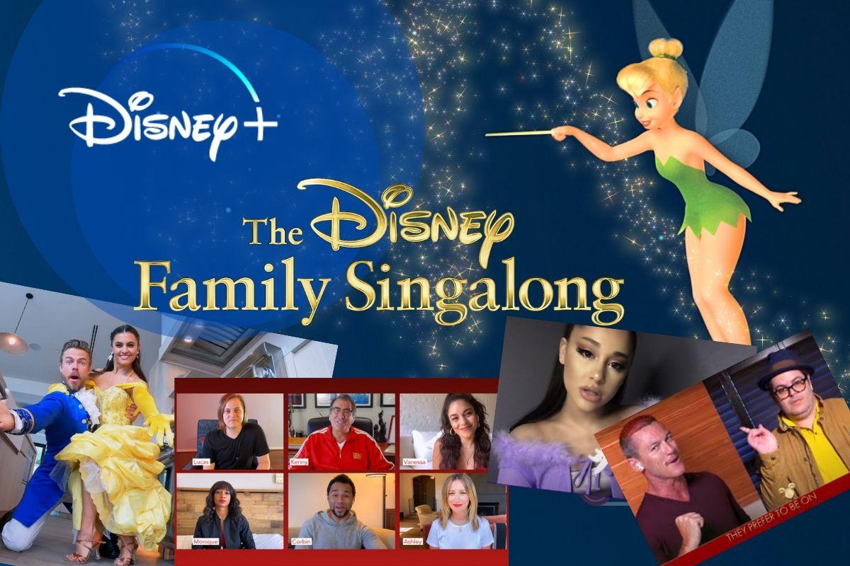 Rivivi i brani Disney in questo speciale The Disney Family Singalong