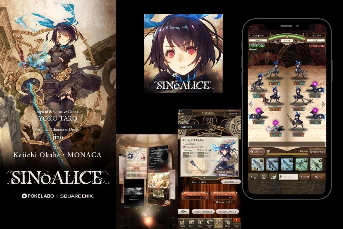 SINoALICE Square Enix ha avviato la pre-registrazione anche su App Store