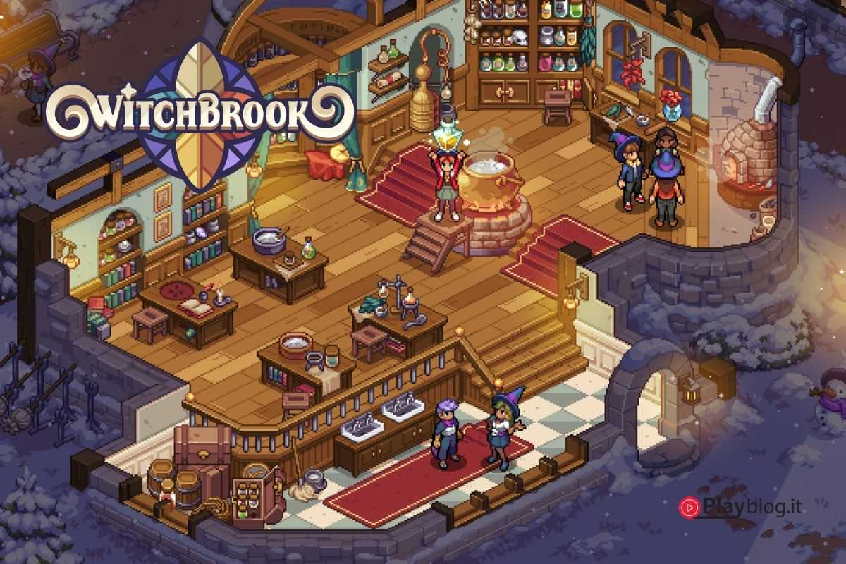 copertina witchbrook gioco ispirato harry potter